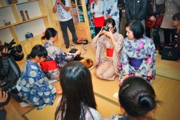 Lễ ra mắt góc Nhật Bản thu hút đông đảo sinh viên Việt Nam