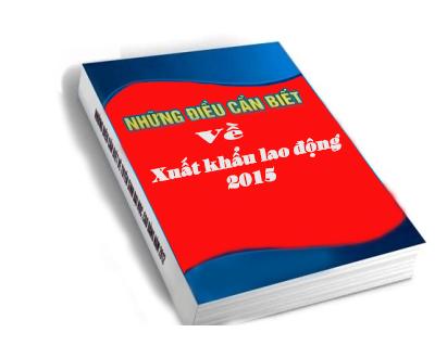 cẩm nang xuất khẩu lao động 2015