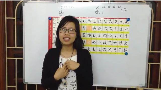 cách phát âm tiếng Nhật
