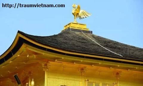 Nóc chùa vàng Kinkaku