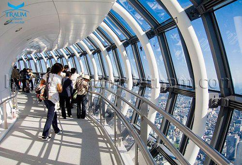 Tháp truyền hình cao nhất thế giới Sky Tree ở Nhật Bản