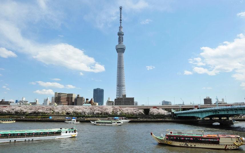 tháp truyền hình sky tree