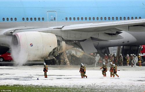 bản tin tổng hợp Nhật Bản tuần 22 máy bay bốc cháy tại haneda