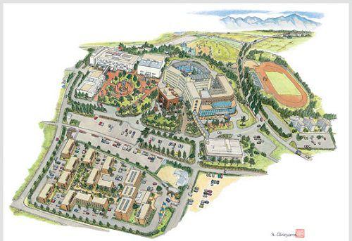 bản đồ Đại học nha khoa Matsumoto