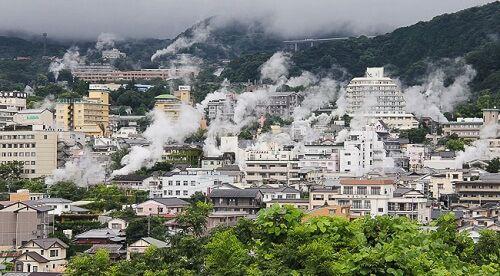 Beppu - Hỏa diệm sơn ở Nhật Bản