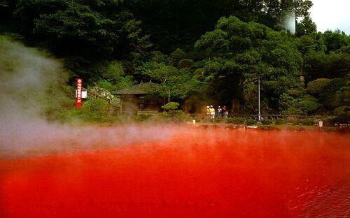 Chinoike Jigoku - Hỏa diệm sơn ở Nhật Bản