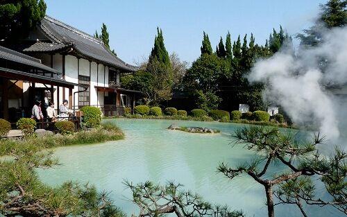 Shiraike Jigoku - Hỏa diệm sơn ở Nhật Bản