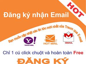 Đăng ký nhận Email