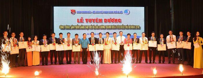 Traum Việt Nam nhận tuyên dương doanh nhân trẻ Thủ đô tiêu biểu năm 2016