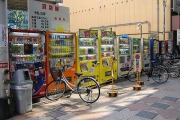 Máy bán hàng tự động – đặc trưng văn hóa Nhật Bản