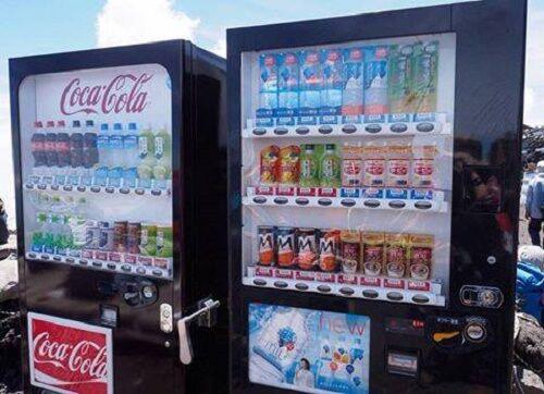 Máy bán hàng tự động - đặc trưng văn hóa Nhật Bản
