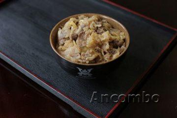 Ancombo – nhà hàng cơm bò gyudon Nhật Bản giữa lòng Hà Nội