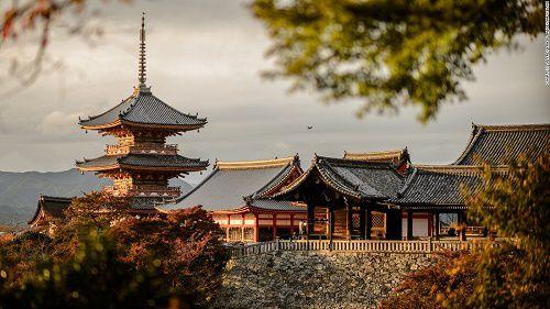 Đôi nét về cố đô Kyoto Nhật Bản - Chùa Kiyomizu-dera