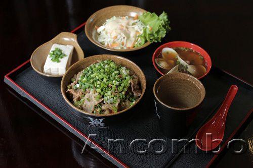 Ancombo - nhà hàng cơm bò gyudon Nhật Bản giữa lòng Hà Nội