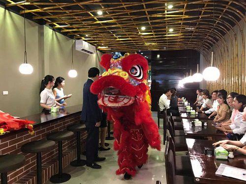 Tưng bừng khai trương nhà hàng Nhật Bản Ancombo