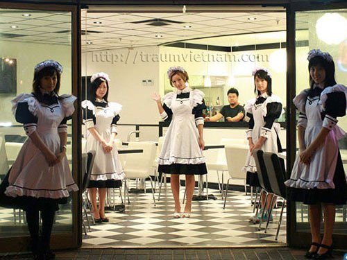 maid cafe tại osaka