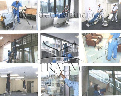 Tuyển 3 nam phỏng vấn đơn hàng làm sạch tòa nhà tại Okayama Japan