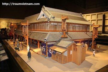 Bảo tàng Edo Tokyo nơi kể lại những mẩu chuyện xưa