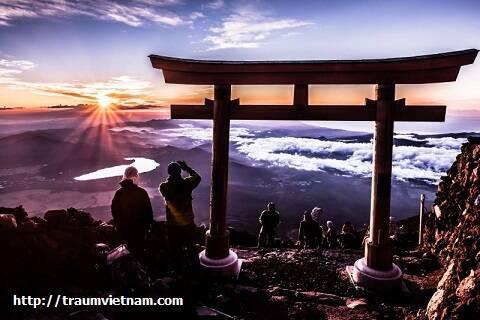 Hành trình leo núi Phú Sĩ