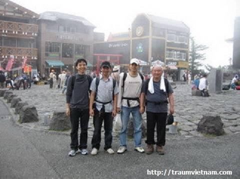 Những chuyến đi dài - Núi Phú Sĩ