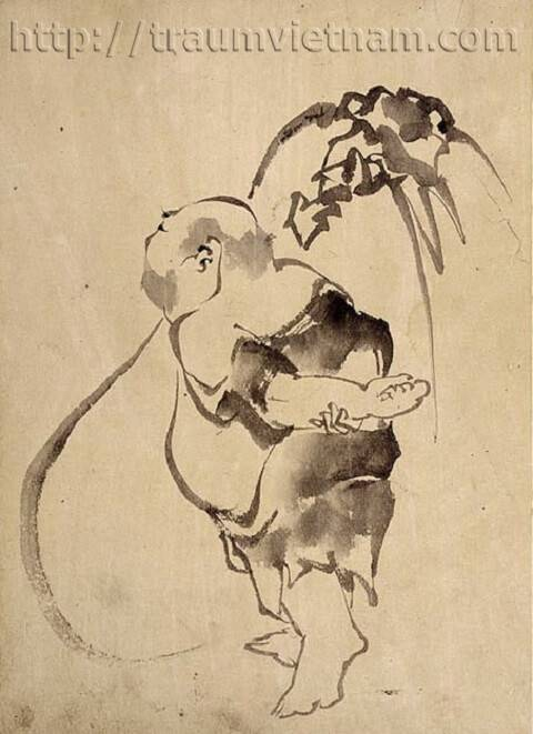 Thiền họa Nhật Bản - nghệ thuật nắm bắt tinh thần Thiền