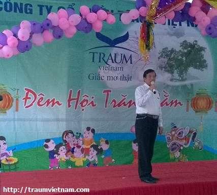 Bác Hải - Quản sinh trung tâm học nguồn Traum tại Mỗ Lao