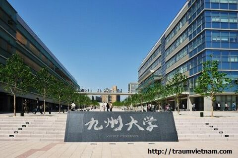 Du học cao học tại Nhật - Đại học Kyushu