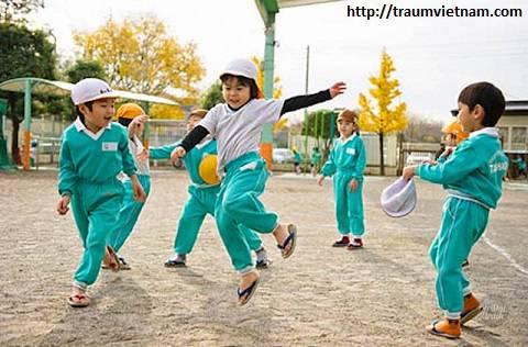 Người Nhật phòng bệnh cho trẻ nhỏ