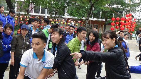 Chào mừng ngày nhà giáo Việt Nam 20/11 - Thi kéo co