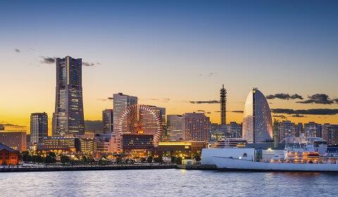 Ngắm nhìn Yokohama về đêm - Tỉnh Kanagawa Nhật Bản