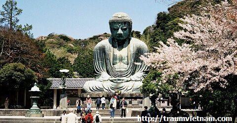 Tượng đại phật Kamakura - Tỉnh Kanagawa Nhật Bản