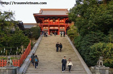 Đền Tsurugaoka Hachimangu (Kanagawa Japan)