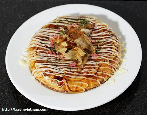 Bánh xèo Okonomiyaki Hiroshima