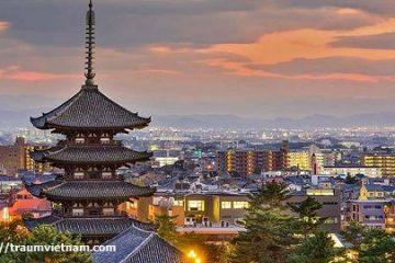 Tỉnh Nara Nhật Bản – trung tâm di sản văn hóa ở xứ phù tang