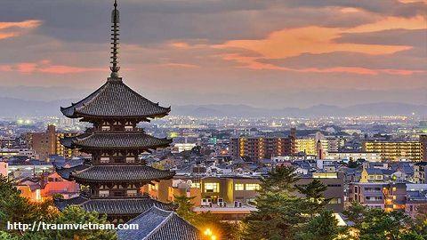 Đặc điểm kinh tế khu vực Nara