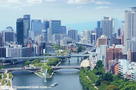 Đặc điểm kinh tế khu vực Osaka