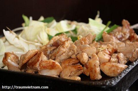 Keichan Thịt gà xiên kiểu Nhật