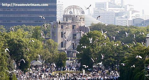 Đài tưởng niệm hòa bình Hiroshima Atomic Bomb Dome