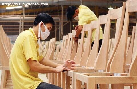 Làm đồ gỗ là một ngành nghề rất phát triển ở Gifu
