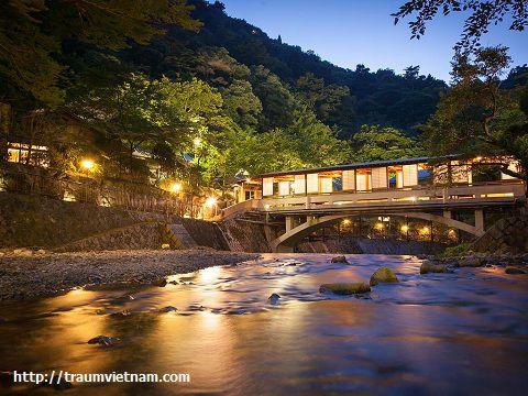 Tắm Onsen ở Arima
