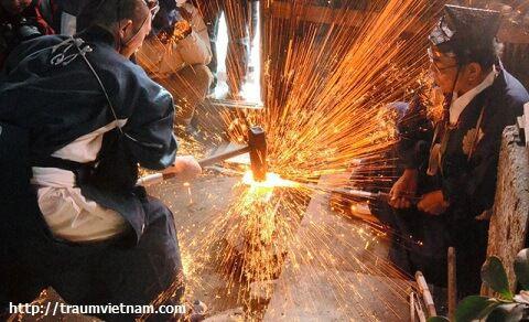 Thành phố Seki với nghề rèn kiếm nổi tiếng