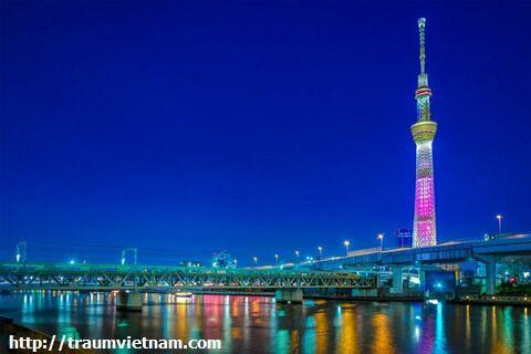Tháp Tokyo Skytree Nhật Bản
