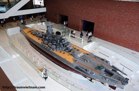 Tàu chiến hạm Yamato - Bảo tàng Yamato