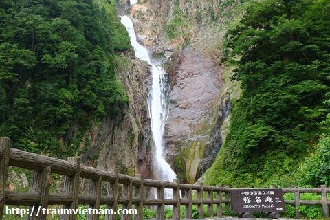 Thác Shomyo - hẻm núi Kurobe, Toyama Japan