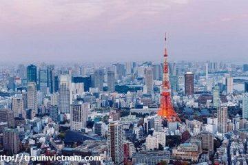 Tokyo Nhật Bản – trái tim của nước Nhật