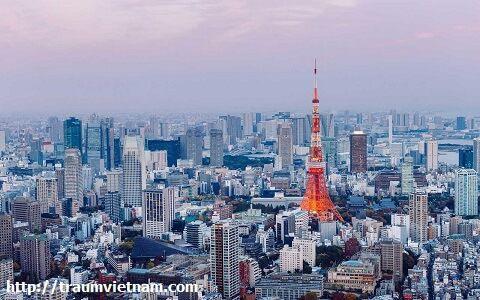 Tokyo Nhật Bản - trái tim của nước Nhật (Tháp truyền hình Tokyo)