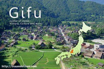 Tỉnh Gifu Nhật Bản – vùng đất đáng sống ở Nhật Bản