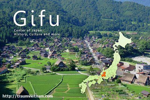 Khám phá tỉnh Gifu Nhật Bản
