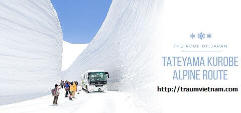 Tuyến đường Tateyama Kurobe Alpine