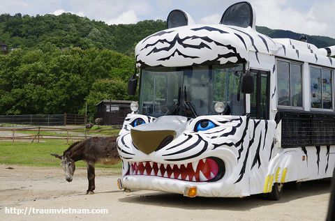 Vườn thú hoang dã Akiyoshidai Safari Land